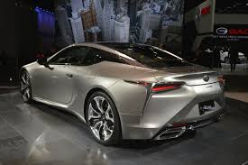 2018 lexus lc 500 new 2018 lexus lc 500 flies under the radar at naias