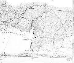 Nautical Maps Portion Of 1851 Nautical Chart Of Western Part Southern Coast Of Li