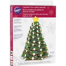 amazon com wilton cookie tree cutter kit christmas cookie