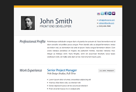 Online Resume Portfolio Examples by Best Wordpress Cv Resume Themes