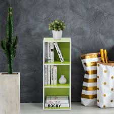 Green Bookcase Modern Bookcases Home Office Furniture The Home Depot