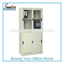 Metal Storage Cabinet With Doors by Small Storage Cabinet With Sliding Doors White Storage Cabinet