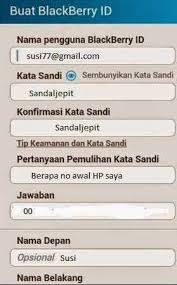membuat akun gmail bbm buat akun bbm baru di android ricky firmansyah medium