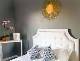 tufted headboard with nailhead trim home design ideas