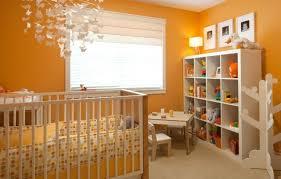 chambre bebe orange chambre enfant peinture chambre bébé fille orange mobilier blanc