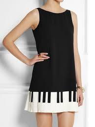black shift dress black shift dress with piano key bottom abaday