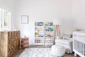 Nursery Side Table Nursery Design Nursery Contemporary With Nyc Apartment