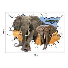 elephant wall sticker wall murals wallpaper 3d elephant wall sticker wall murals wallpaper
