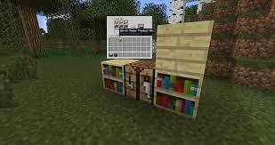 wood varied bookshelves suggestions minecraft java edition