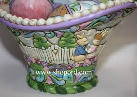 jim shore easter baskets jim shore welcome set of 5 eighth annual easter basket