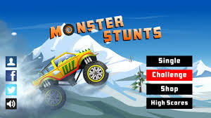 monster truck video games free monster stunts monster truck stunt racing game android apps