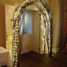 wedding arches with lights wedding arch with lights flowers everything covered