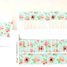 Floral Crib Bedding Sets Floral Baby Bedding Hamze