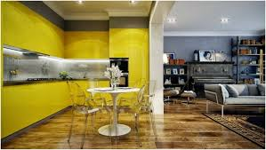 cuisine moderne jaune couleur de cuisine moderne jaune