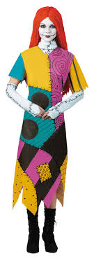 sally nightmare before sally doll costume rag doll costume