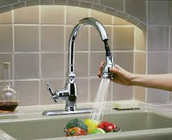 kitchen faucets seattle pullout kitchen faucets let you go with the flow the seattle times