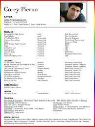 acting resume template for microsoft word resume template nicetobeatyou tk