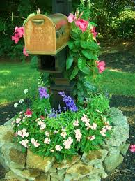 Cottage Curb Appeal - adding curb appeal with mailbox gardens a cultivated nest