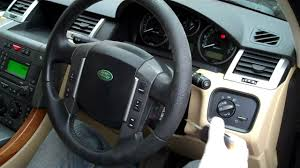 2011 land rover lr4 interior how to change steering wheel range rover sport guidance o youtube