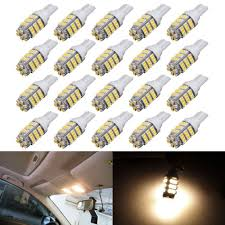Led Light Bulbs For Travel Trailers by Amazon Com Autous90 20 X Rv Trailer T10 921 194 168 2825 42 Smd