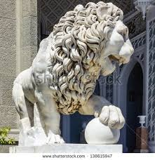 marble lions library lion statue marble lion sculpture in vorontsov palace in