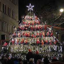 singing christmas tree the singing christmas tree zuerich