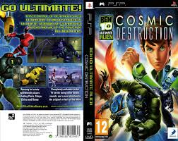 download ben 10 ultimate alien cosmic destruction psp iso cso