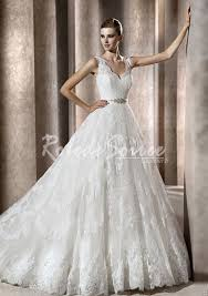 robe de mari e princesse pas cher princesse robe de mariée en satin dentelle de fuite dress06090117