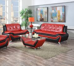 red and black coffee table living room modern sofa set ideas for living room red black 2