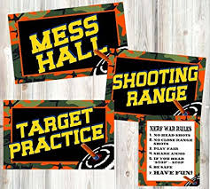 themed signs dart tag themed party supplies posters and signs