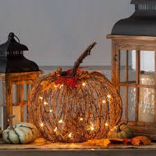 halloween pumpkin lights decoration pumpkins lantern outdoor lamp