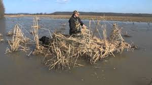 Layout Hunting Blinds Four Rivers Layout Boats Take U0027m Blind 2 Ma Outdoors Youtube