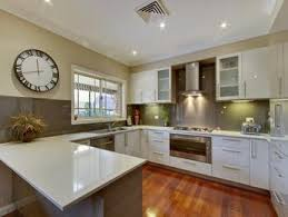 kitchen u shaped design ideas cool and opulent u shaped kitchen design on home ideas homes abc