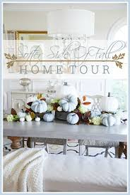 softer side of fall home tour part 1 stonegable