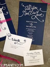 vistaprint for wedding invitations vistaprint wedding invitations