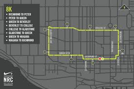 Nike Map Nike Toronto Run Routes Nike Com
