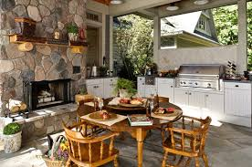 Outdoor Kitchen Cabinets Polymer 23 Different Outdoor Kitchen Cabinets Home Design Lover