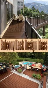 balcony deck design ideas quiet corner