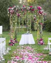 wedding backdrop ideas decorations awesome leaves chandelier best 25 ceremony backdrop ideas