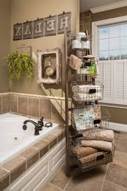 bathroom storage ideas small spaces white pink colors wooden