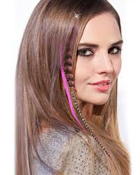 feather extensions 12pcs multicolour feather hair extension clip in hair extensions