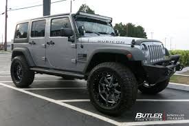charcoal grey jeep rubicon jeep wrangler vehicle gallery at butler tires and wheels in