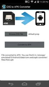 how to convert exe into apk exe to apk converter prank apk android tools apps