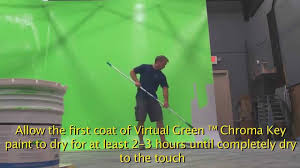 Green Paint by How To Paint A Green Screen Chroma Key Wall With Green Screen