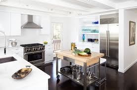 Wheeled Kitchen Islands Brilliant Kitchen Island On Wheels For Collection In Diy How To