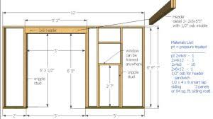 Plans To Build A Firewood Shed by 12x10 Saltbox Shed Plans