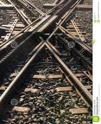 treno cremagliera ferrovia a cremagliera dell incrocio immagine stock immagine