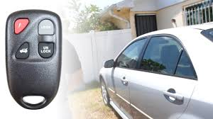 how to program a 2003 mazda 6 key remote youtube