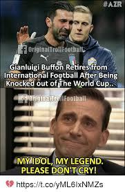 Midol Meme - 25 best memes about gianluigi buffon gianluigi buffon memes