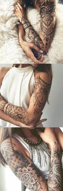 lotus arm sleeve ideas for at mybodiart com tribal
